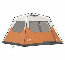 Coleman Outdoor Camping 6 Person Instant Tent w/ WeatherTec (Open Box)