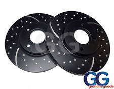 EBC Turbo Grooved Upgraded Front Brake Discs | Ford Fiesta ST 180 1.6T