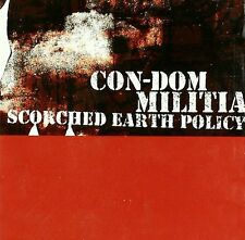 CON-DOM / MILITIA Scorched Earth Policy CD 2002