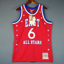 100% Authentic Julius Erving Dr J Mitchell Ness 83 All Star Jersey Size 40 M