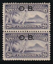 Philippines Year 1931 Scott No. EO1 MNH Block of 2 stamps