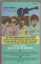 1986 POP ROCK CASSETTE: THE MONKEES - THEN AND NOW ... THE BEST OF THE MONKEES