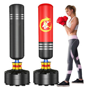 New 5.5ft Free Standing Boxing Punch Bag Stand MMA Kick Martial Art Training