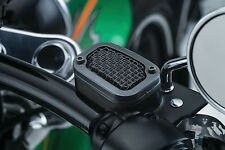 Tapa Bomba Freno Para HD® Softail® Mesh Front Master Cylinder Cover Satin Black