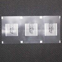 100pcs  9629 UHF tag RFID dry inlay 860-960MHZ Higgs3 915M EPC C1G2 ISO18000-6C