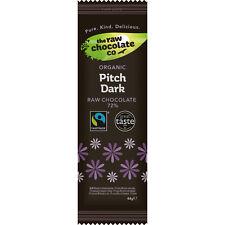 The Raw Chocolate Company Organic Pitch Dark Bar 44g