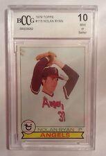 1979 Topps Nolan Ryan California Angels #115 Baseball Card
