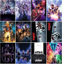 Avengers: Endgame Movie Film (2019) Mirror Surface Postcard Promo Card Collects
