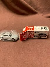 Vintage Tomy Japan Tomica #55 Nissan Fairlady Z In Silver 1/58 Scale