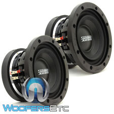 "(2) SUNDOWN AUDIO SD-3 8 D2 8"" SUBS 300W RMS DUAL 2-OHM SUBWOOFERS BASS SPEAKERS"