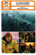 FICHE CINEMA : LE JOUR D'APRES - Quaid,Gyllenhaal 2004 The Day After Tomorrow