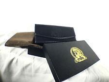 Arnoldus Designer Black Pebble Textured Belt Clip Universal Leather Phone Case