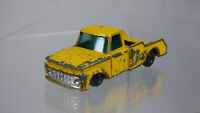 Vintage Husky no 35 Diecast Yellow Ford Camper Truck Toy Car For Restoration