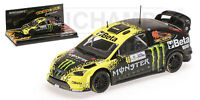 Minichamps 400098946 - 1/43 SCALE FORD FOCUS WRC 'BETA' ROSSI MONZA RALLY 2009