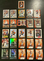 Ryan Finley 2019 Rookie Lot 26 Cards~Inserts++ Jersey/Patch/Prizms SP Bengals RC