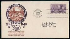 Mayfairstamps US FDC 1948 COVER DISCOVERY OF GOLD wwi 23