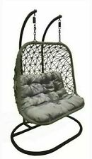 Pagoda Double Hanging Chair Two-Seater Seat Cushion