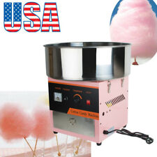 US Electric Cotton Candy Machine Floss Maker Commercial Carnival Party Kids Gift