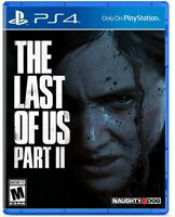 The Last of Us Part II for PlayStation 4 [New Video Game] PS 4