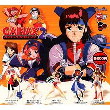 FLCL Fooly Cooly Gainax Heroines 2 Haruhara Haruko figure Gashapon Set of 5 Mew