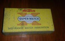 Antique Western Super Match Mid Range 38 Special Reloading 50 Nickel Plate.