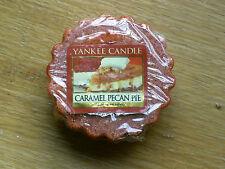 "YANKEE CANDLE RETIRED USA EXCLUSIVE  "" CARAMEL PECAN PIE   ""  WAX TART MELT"