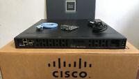 CISCO ISR4331-VSEC/K9 3-Port Gigabit Voice SECURITY Router PVDM4-32 ISR4331-V/K9