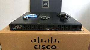 CISCO ISR4331-VSEC/K9 3-Port Gigabit Voice SECURITY Router PVDM4-32 NOT AFFECTED