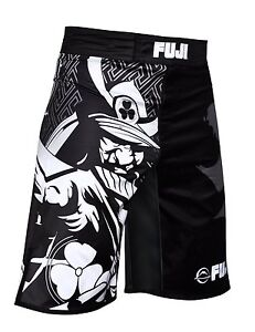 Fuji Musashi MMA BJJ No Gi Performance Competition Fight Board Shorts - Black