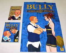 BULLY - DIE EHRENRUNDE - PC DVD MIT HANDBUCH & POSTER SCHOLARSHIP ROCKSTAR