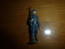 Petit soldat en plastique, français au fusil, WW1, Elastolin