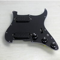 A Set of OriPure Prewired Strat HH Guitar Pickguard Alnico 5 Humbucker Pickup