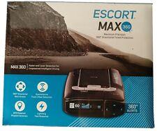 ESCORT MAX360 Laser Radar Detector - GPS, Directional Alerts