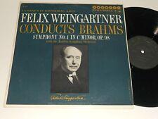 BRAHMS NM- FELIX WEINGARTNER conducts London Symphony No. 1 in C Minor Promo