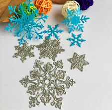Metal Cutting die snowflake 4pcs for Scrapbooking and Paper Crafts Embossing diy