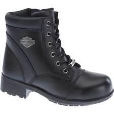 "Harley-Davidson Women's Raine 5.5"" Black ST Motorcycle Boots D83883"