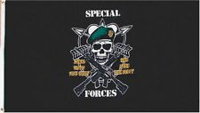 U.S. Special Forces Mess with the Best Die like the Rest 3x5 ft Flag Banner