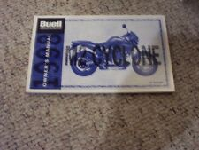 1998 Buell M2 Cyclone Motorcycle Operator Owner Owner's User Guide Manual