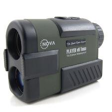NovaOptik Golf Laser Rangefinder PinSeeker SCAN Slope Waterproof Player V6 Tough