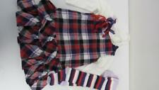GYMBOREE Vintage Winter Penguin 4pc Shirt Dress Tights Pony-O SZ 4 4T EUC TL8