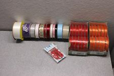 37x Spools Wholesale Lot Offray Ribbon Craft Supplies