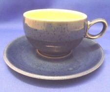Unboxed Vintage Original Stoneware Cups & Saucers