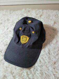 Unique and Rare Sportsman Lion hat in Black and Yellow, Strap Back. A3