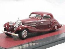 MATRIX SCALE MODELS 1936 Mercedes-Benz 540k Spécial Coupe #130944 Rouge 1:43