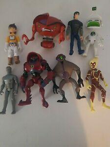 BEN 10 BANDAI Action Figures BUNDLE Joblot Toys