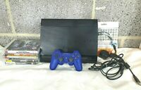 Sony Playstation 3 Super Slim 500GB Bundle - Games - Great Condition - Working