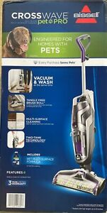 BRAND NEW SEALED Bissell Crosswave Pet Pro All in One Wet Dry Vacuum Cleaner2328