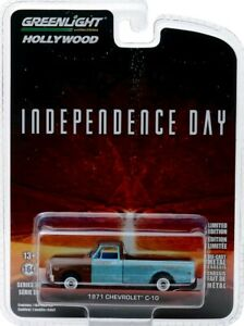 1971 Chevrolet C-10 Pickup Independence Day 1:64 GreenLight
