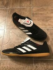 Adidas Copa 17.4 Indoor Soccer Shoes Men's Size 11 Black/ White/ Red BB5373