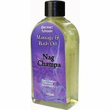 Nag Champa 100ml Massage Oil RELAXING AROMATHERAPY SCENTED BIRTHDAY PRESENT